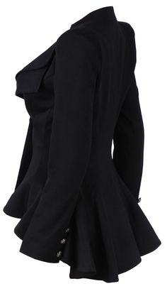 'Lucy' Black Tailored Blazer