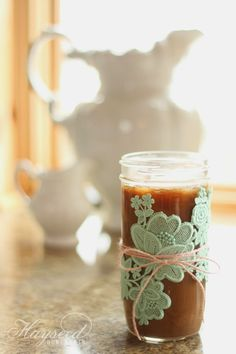 The Best Guilt-Free Vanilla Iced Coffee   My sweetest secret   Hayseed Homemakin' #keto #coffee #lowcarb