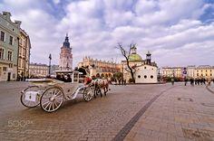 Popular on 500px : Rynek Główny  Krakow by mrojek