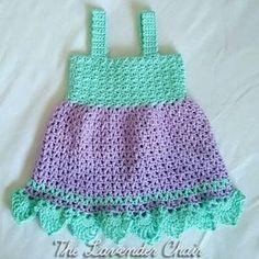 FREE!! ALL SIZES!! Valerie's Summer Sundress Crochet Pattern - The Lavender Chair