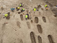 Roadworks reveal early Medieval necropolis in northern Spain Archaeology News, Stone Slab, Southern Europe, Middle Ages, Medieval, Spain, Sevilla Spain, Mid Century, Medieval Times