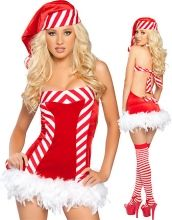Sassy Santa Dress With Checked Bow Item No : W4086 Sales Price : US$ 9.45