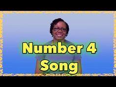Preschool Learning - Number 4 Song - LittleStoryBug - YouTube