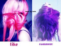 vs you pick Pretty Hairstyles, Girl Hairstyles, Cute Scene Girls, Emo Scene Hair, Hair 24, Indie Scene, Cute Emo, Emo Girls, Purple Hair