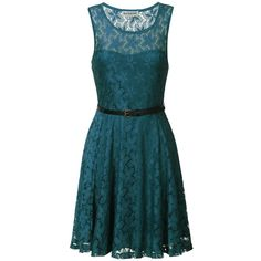 True Decadence Lace Sweetheart Skater Dress (£10) ❤ liked on Polyvore featuring dresses, vestidos, 13. dresses., short dresses, dark teal, sleeved maxi dress, long-sleeve mini dress, maxi dresses, blue maxi dress and short sleeve dress