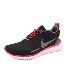 Nike Black Grey Sports Shoes size 8