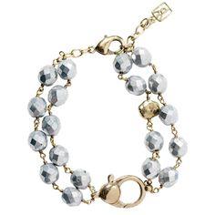 Waxing Poetic Ensemble Bracelet Bright Silver