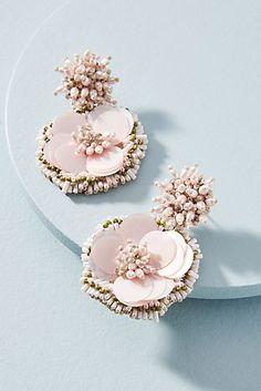 Marnie Floral Burst Drop Earrings