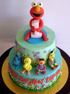 amazing sesame street cakes | ... awesome gallery of Sesame Street themed cakes, with all your favorite