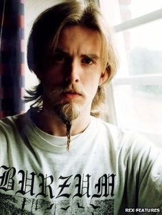 Varg Vikernes of Burzum Black Metal, Tyler Durden, Beard Lover, Lord, Thrash Metal, Metalhead, Death Metal, Metal Bands, Music Stuff