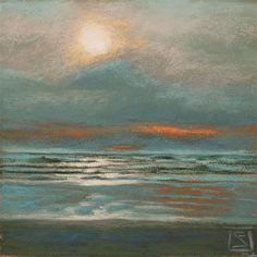 """Cannon Beach Grays"" - Original Fine Art for Sale - © Sheila Evans"