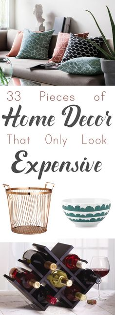 Decor for people with a *lot* of taste… but only a *little* bit of money.