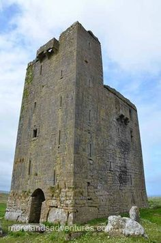 Castle ruins - Picture of Ballinalacken Castle Country House, Doolin - Tripadvisor Ireland Uk, Castles In Ireland, Castle Ruins, Medieval Castle, Tower House, Big Houses, Abandoned Houses, Palaces, Kansas