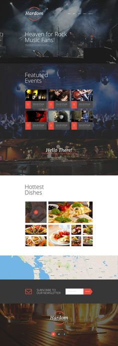 Website Theme , Cafe