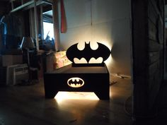 My Version Of The Bat Bed   By Stacy Faulkner #batman #DC #coolbed