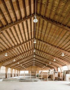 On a former horse farm in New Jersey, Frank Gehry built Cai Guo-Qiang's dream home. Cai Guo Qiang, Frank Gehry, Studio Setup, Horse Farms, Ny Times, Ceiling Lights, Architecture, Building, Artist