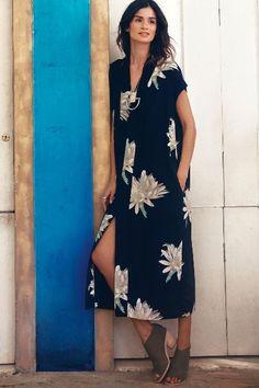 Desert Bloom Midi Dress #Anthropologie