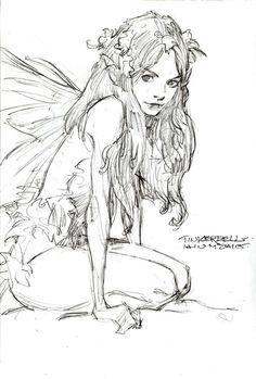Sketch by Iain McCaig