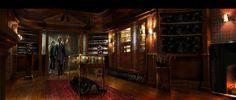 """Concept Art from """"Kingsmen"""" Paul Kirby Production Designer"""