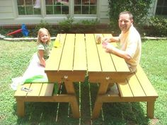 Convertable Picnic Table