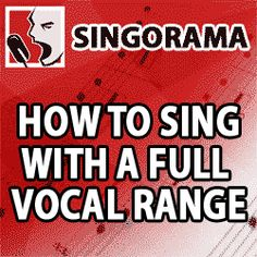 Sing With Your Head Voice