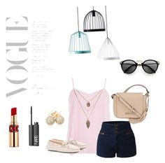 """""""Voyage to dreams"""" by sassaalice on Polyvore featuring beleza, Dorothy Perkins, LE3NO, Tod's, Kenneth Cole, Loushelou, NARS Cosmetics, Yves Saint Laurent e fferrone design"""