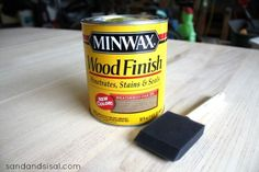 Weathered Oak stain to refinish/ resurrect the patio dining table and bring it back inside/juxtapose stain with Black legs Painted Kitchen Tables, Dining Table Makeover, Kitchen Table Makeover, Diy Dining Table, Oak Table, Patio Dining, Dining Room, Driftwood Stain, Refinished Table