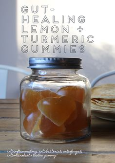 Gut-Healing Lemon and Turmeric Gummie's recipe - The Whole Daily