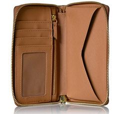 a3a9605e9d2d Smartphone Holder and RFID Womens Fossil Wallet.
