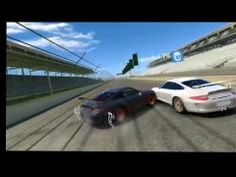 Funny crashes in Real Racing 3 game