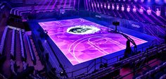 Nike creates full-size LED basketball court in Shanghai