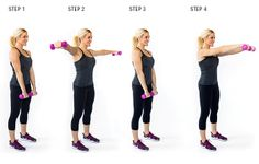 Dumbbell Front   Lateral Raise