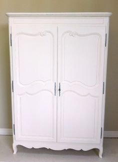 pure simple elegant, vintage French armoire