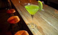 O drink Apple Martini do Serafina