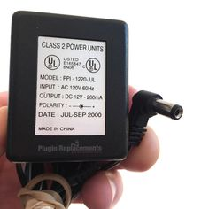 PPI-1220-UL AC/DC OEM Power Supply Adapter Charger DC 12V 200mA Power Unit, Charger, How To Find Out, Cards Against Humanity, The Unit, Ac Dc, Oem
