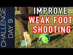 How to Improve Your Weak Foot & Touch in Soccer or Football - Weaker foot training & drills Soccer Drills For Kids, Football Drills, Soccer Practice, Soccer Skills, Football Training Program, Soccer Training, Training Programs, Football Music, Soccer Workouts