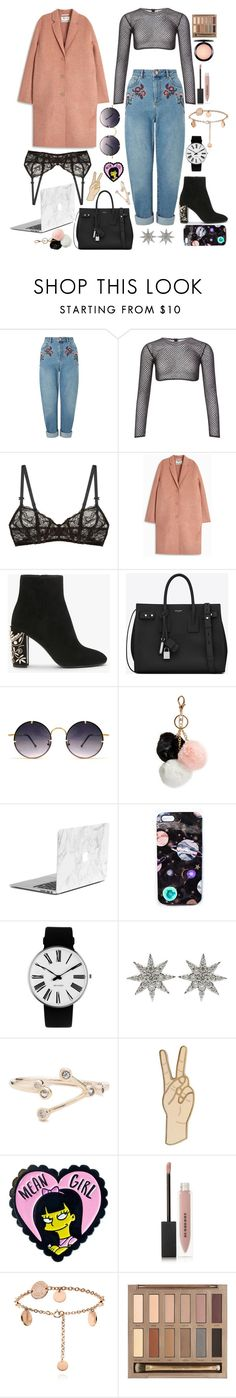 """""""My middle name 💣"""" by yammyd ❤ liked on Polyvore featuring Miss Selfridge, PA5H, Free People, Acne Studios, Yves Saint Laurent, Spitfire, GUESS, Nikki Strange, Rosendahl and Bee Goddess"""