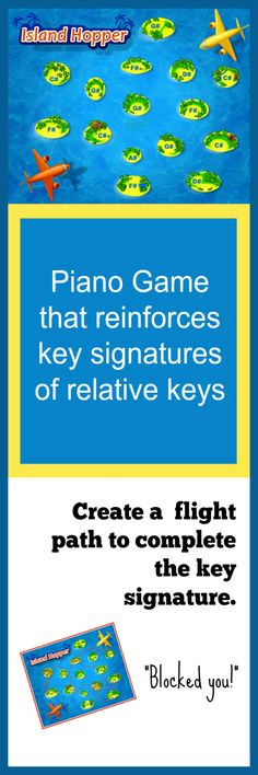 Fun game to reinforce knowledge of relative keys AND order of sharps in a key signature! This game is full of strategy your older students will LOVE. Easy to play, easy to set-up and a great way to reinforce these concepts. Grab it before May 26th at www.pianogameclub.com #pianogameclub #CoolPianoTeachersUseGames #NoMoreBoringTheory #TeenPianoHacks