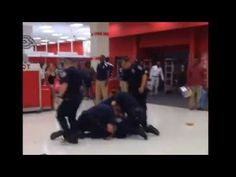 (VIDEO): Crowd Becomes Angry as they Watch Swarms of Cops Jump on One Man in a Target Store | The Free Thought Project