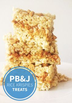 When you combine your kids' favorite flavor combination with an easy dessert idea what do you get? These PB & J Rice Krispies Treats® of course! Make them for your kiddos as an after-school snack.