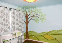 Bespoke Nursery Design and Painting, Children's Rooms, Feature Walls, Murals Childrens Rooms, Feature Walls, Nursery Design, Valance Curtains, Murals, Bespoke, Artist, Painting, Image