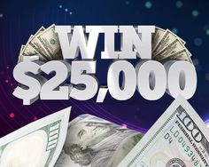 Enter Now to Win a $25,000 Cash Giveaway! Jonathan Clark claims the money from the prize of the 25,000 dollars