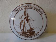 Vintage Nautical Apothecary Jar English Boudoir by Retromagination