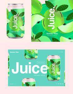 Juice | Summer Vibes on Behance