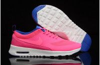 New Nike Air Max Thea Print Shoes Pink White Blue