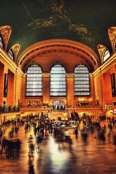 This Grand Central Station can be your destination to admire.