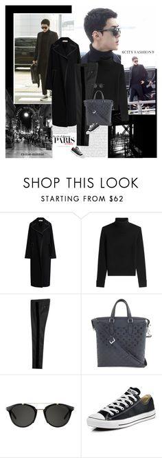 Black is always a good idea by rainie-minnie on Polyvore featuring Alexander McQueen, Carrera, Marni, Vanessa Seward, Louis Vuitton, Converse, H&M, Oris, men's fashion and menswear