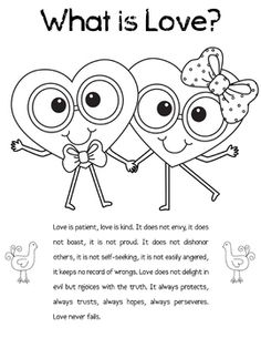 FREE Printable about Love What love is and what love is not :)  My most popular download :) Also, please check out my clip art, I would LOVE that :)