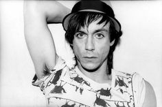 Iggy Pop by Marcia Resnick, 1979.