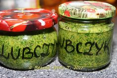 świeżo zerwany lubczyk gałązek ok 120 g soli morskiej niejodowanej Cooking Recipes, Healthy Recipes, Snacks Für Party, Healing Herbs, Food Hacks, Pesto, Baking Soda, Mason Jars, Good Food